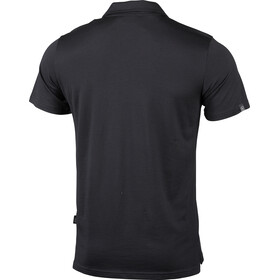 Lundhags Gimmer Merino Light Polo Tee Men black